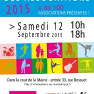 Carrefour des associations 2015 Lyon 6ème